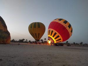 Полет на воздушном шаре в Луксоре